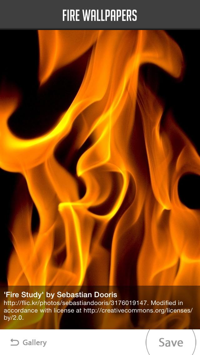 Fire Wallpaper screenshot 2