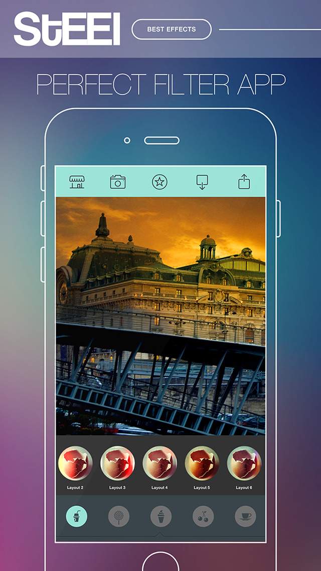 STEEL Camera - Best Photo Editor and Stylish Camera Filters Effects screenshot 5