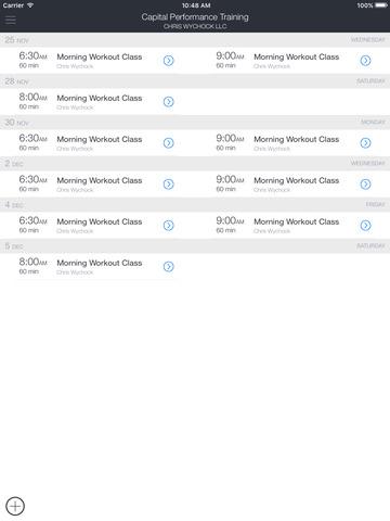 Capital Performance Training screenshot 3