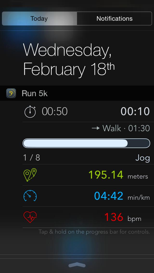 Run 5k (GPS & Pedometer) - Couch to 5k plan screenshot 3