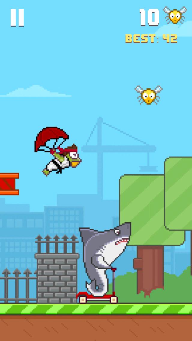 Hoppy Frog 2 - City Escape screenshot 2