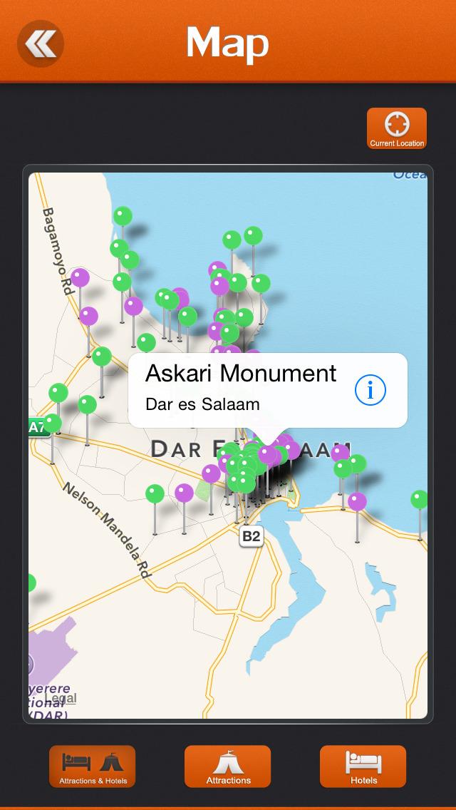 Dar es Salaam City Offline Travel Guide screenshot 4