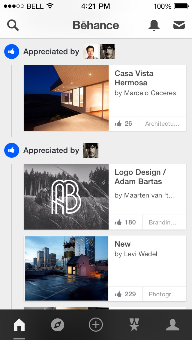Behance – by Adobe screenshot 1