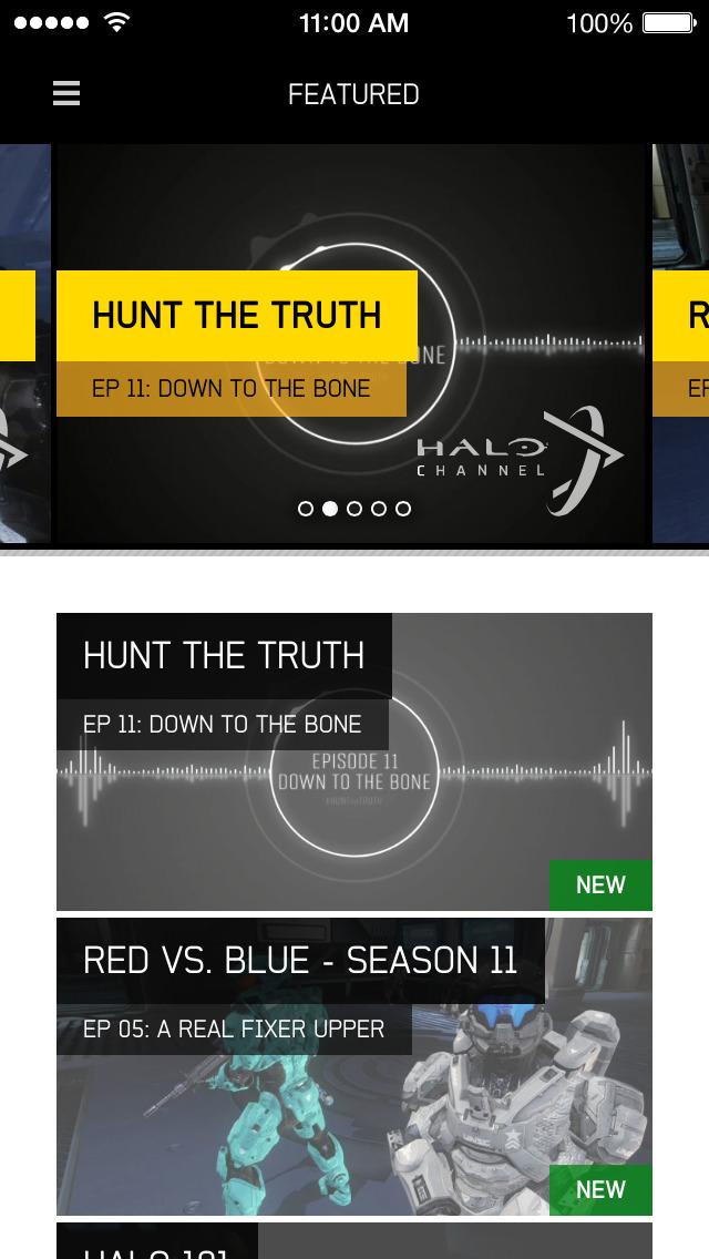 Halo Channel screenshot 1
