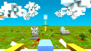Blocky Plane Gold screenshot 3