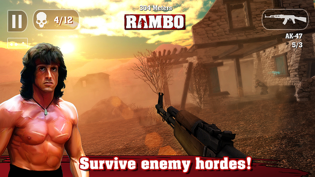 rambo iphone