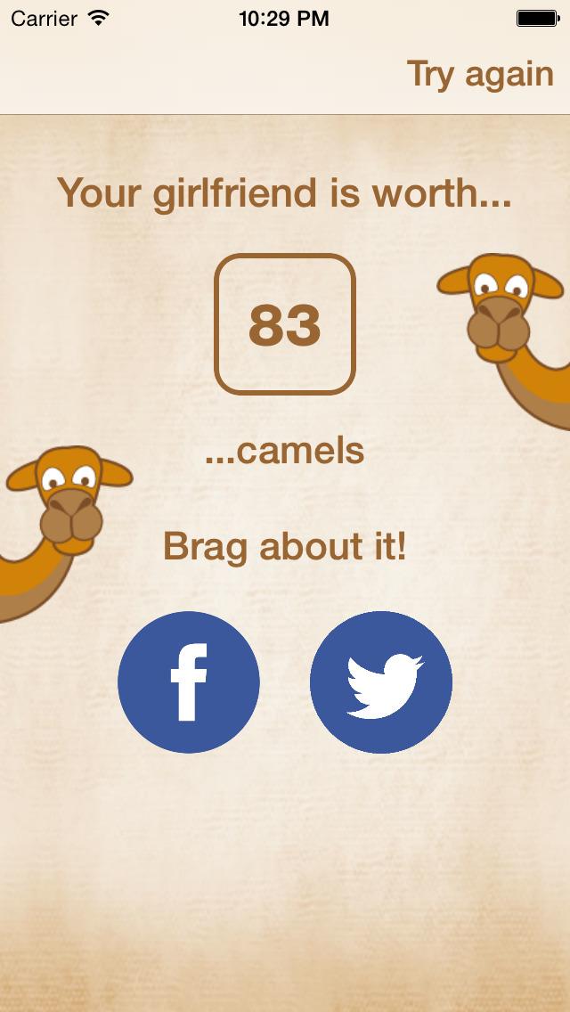 CamelCalc screenshot 4