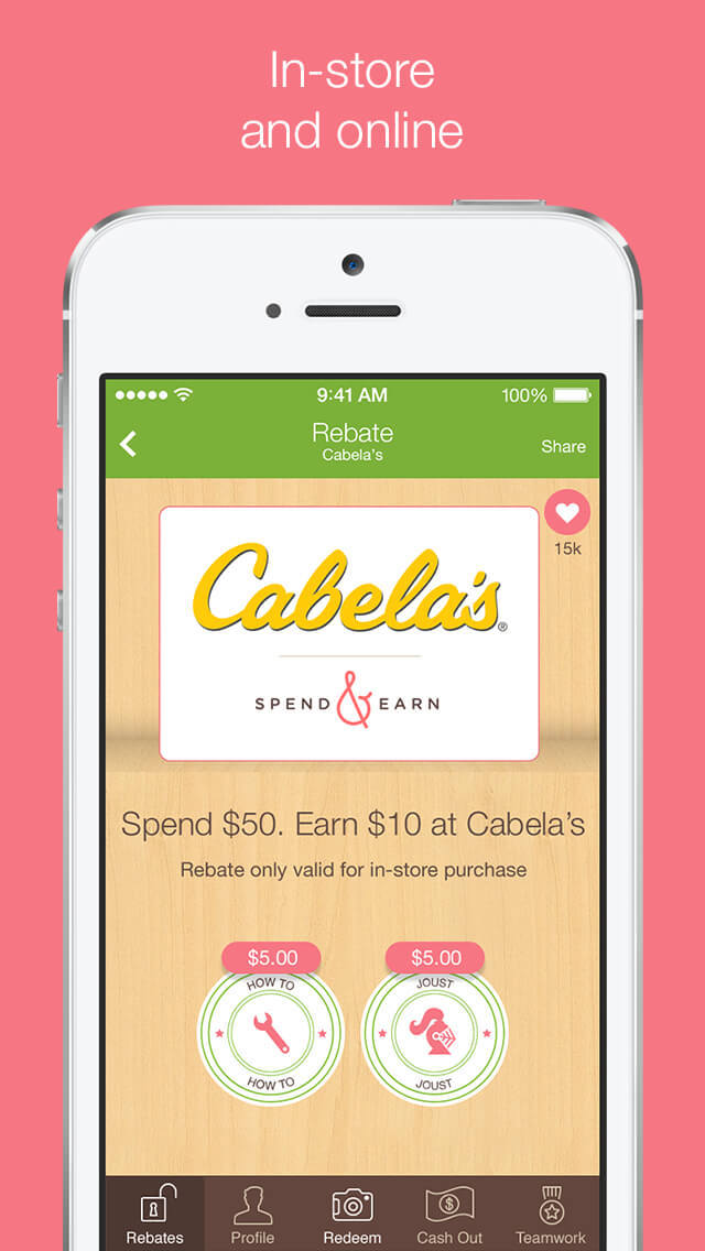 Ibotta: Save & Earn Cash Back screenshot 4