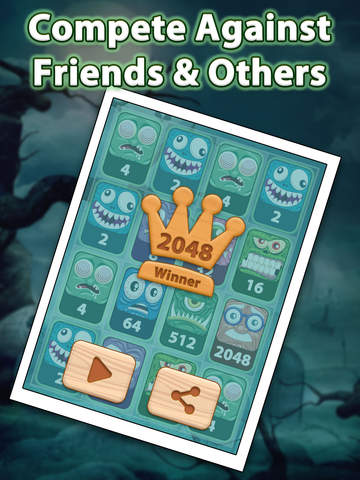 2048 Aaah! Halloween Pro screenshot 8