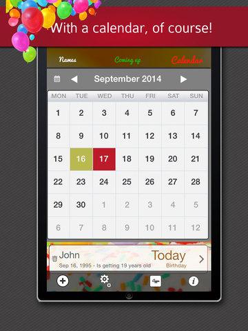 Birthday Reminder - Calendar and Countdown screenshot 10