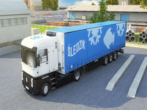 3D Semi Truck Parking PRO - Full Trucker Driving School Simulation Version screenshot 7