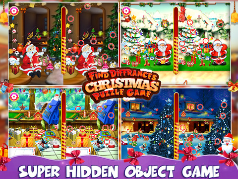 Find Differences Christmas Puzzle screenshot 6