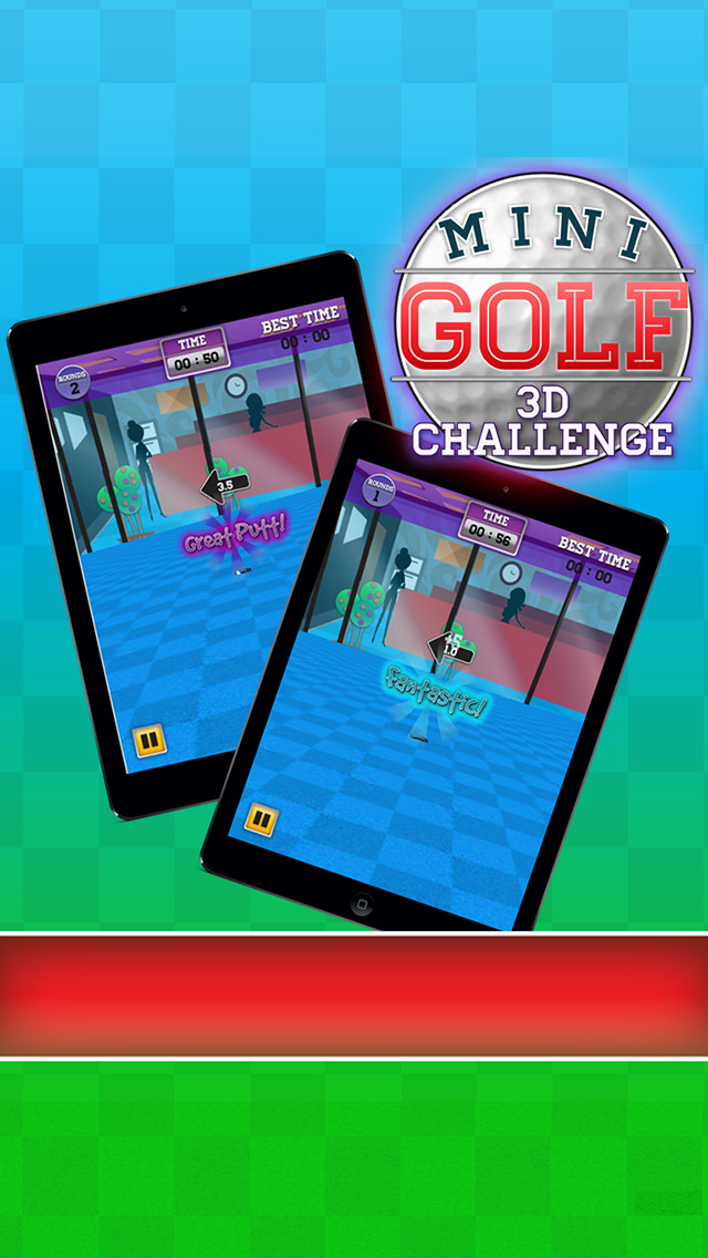 Mini Golf 3D Challenge screenshot 1