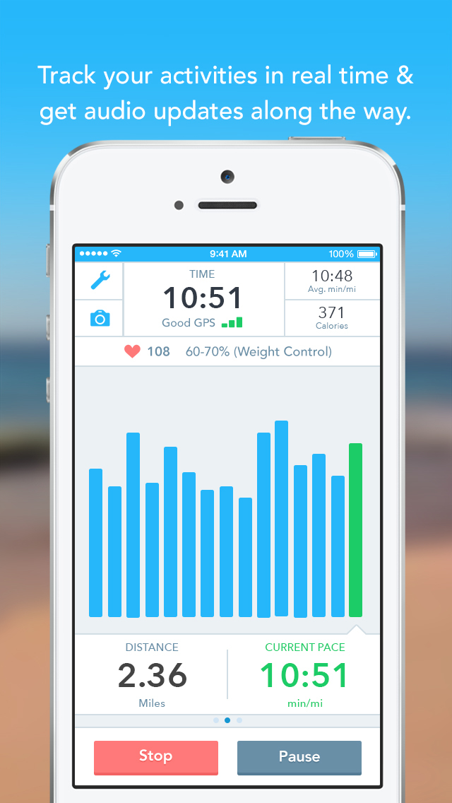 Runkeeper—GPS Running Tracker screenshot 2