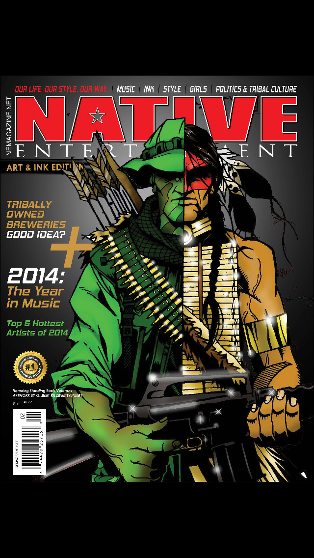 Native Entertainment Magazine screenshot 1
