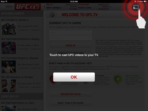 UFC ® screenshot 8