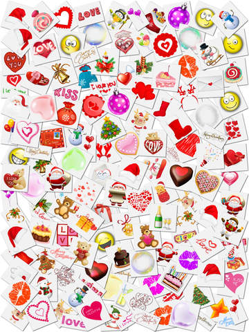 Xmas Frames and Stickers HD screenshot 9