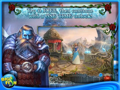 Living Legends: Frozen Beauty HD - A Hidden Object Fairy Tale screenshot 1