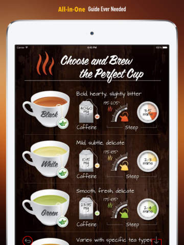 Tea 101: Quick Study Reference with Video Lessons and Brewing Guide screenshot 7