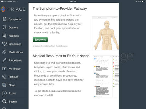 iTriage - Health, Doctor, and Symptoms search screenshot 6