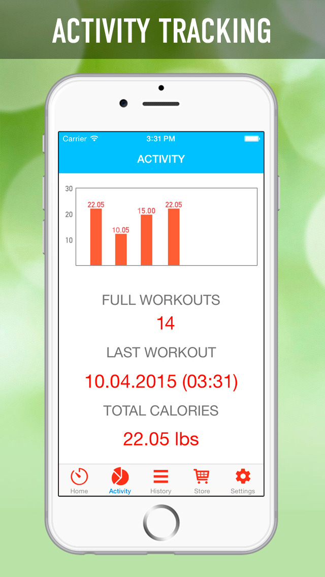 7 Minutes Workout Program screenshot 3