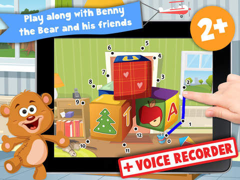 Free Kids Toys Puzzle Teach me Tracing and Counting - Learn about teddy bears and dolls for boys and girls screenshot 6