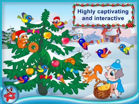Christmas Night: Three Little Pigs Free Adventure screenshot 7