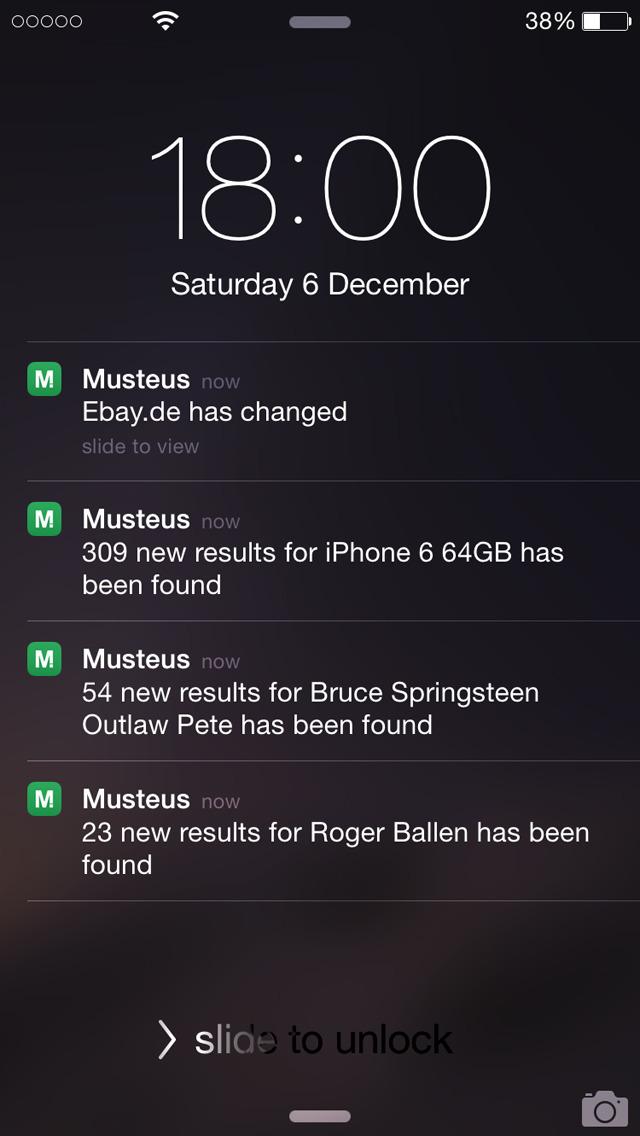 MUSTEUS Push App screenshot 4