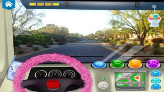 Ice Cream & Fire Truck Games 4 screenshot 4