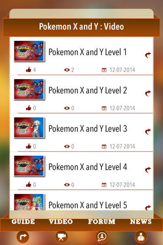 Guide for Pokemon X and Y - Video,Forum & News - náhled