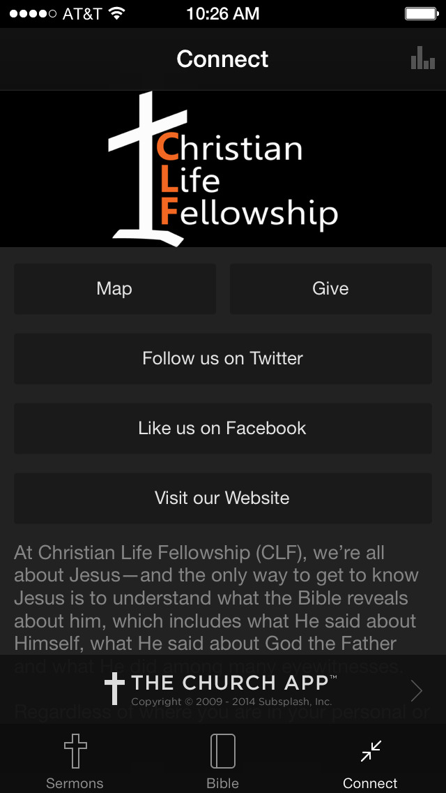 Christian Life Fellowship screenshot 4