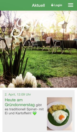 Gartencafé screenshot 1