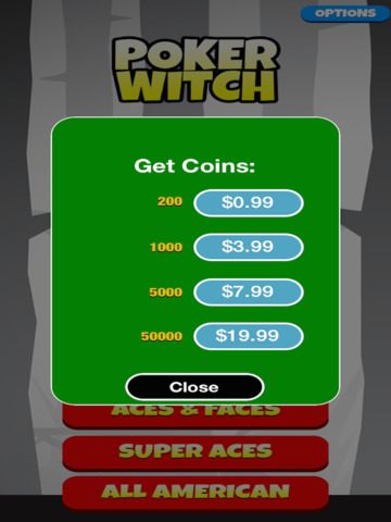Video Poker Witch: Play, Bet, Win! - FREE Edition screenshot 9