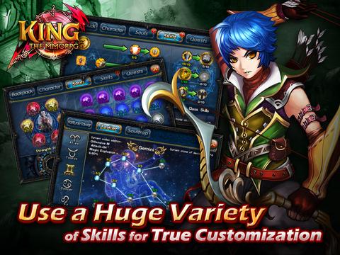 KING-THE MMORPG screenshot 9