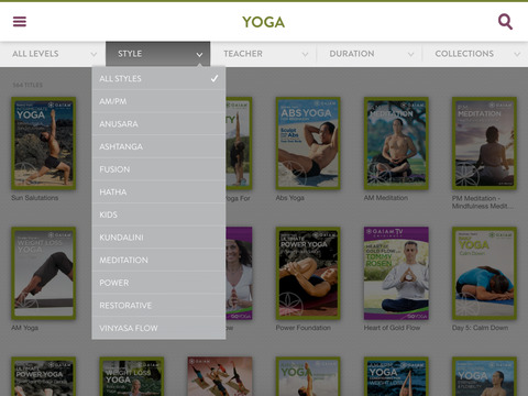 Gaia TV Discover Mindful Yoga screenshot 9