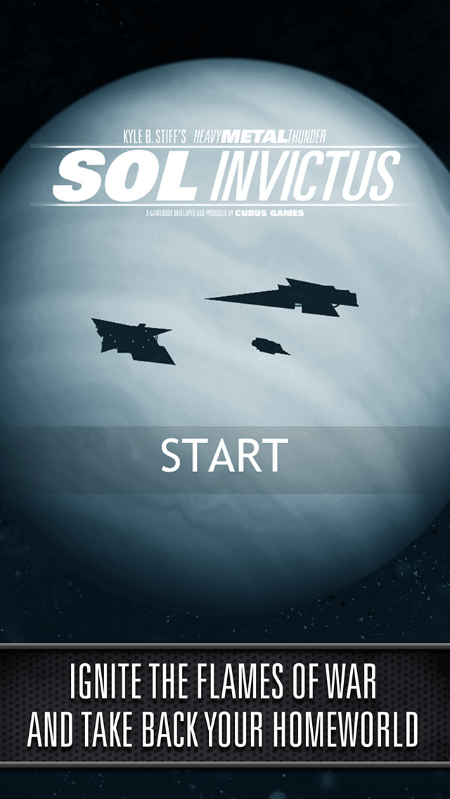 Sol Invictus – Sequel to Interactive SciFi Gamebook Heavy Metal Thunder screenshot 1