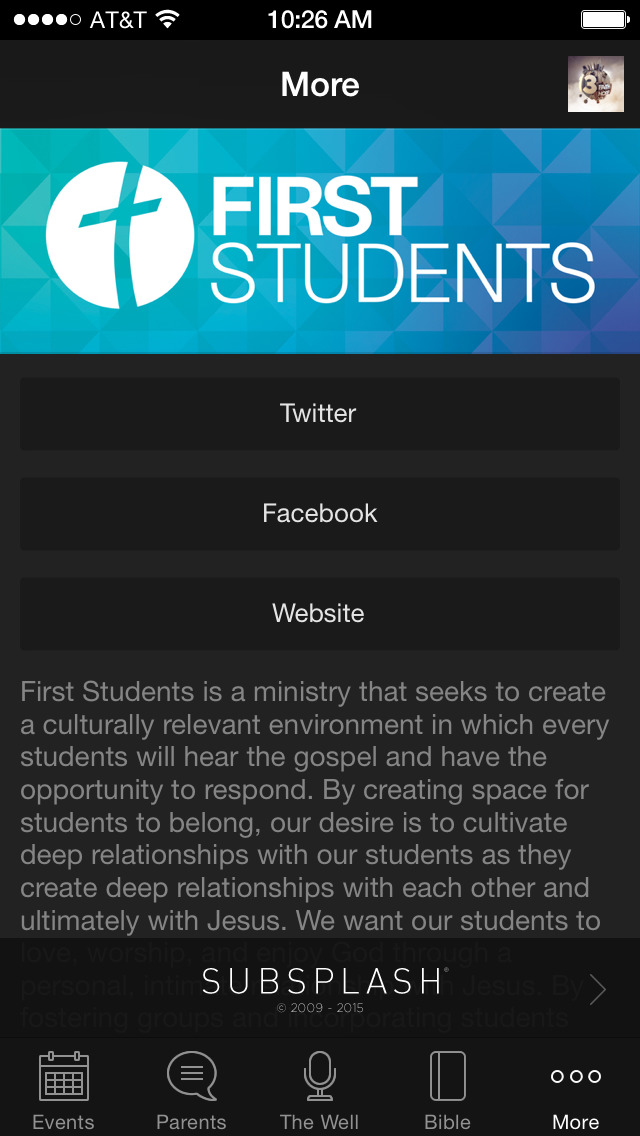 First Student Ministry screenshot 4