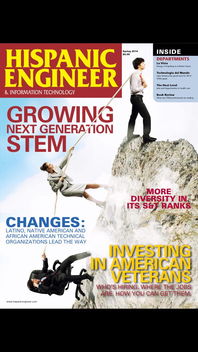Hispanic Engineer & Information Technology screenshot 1