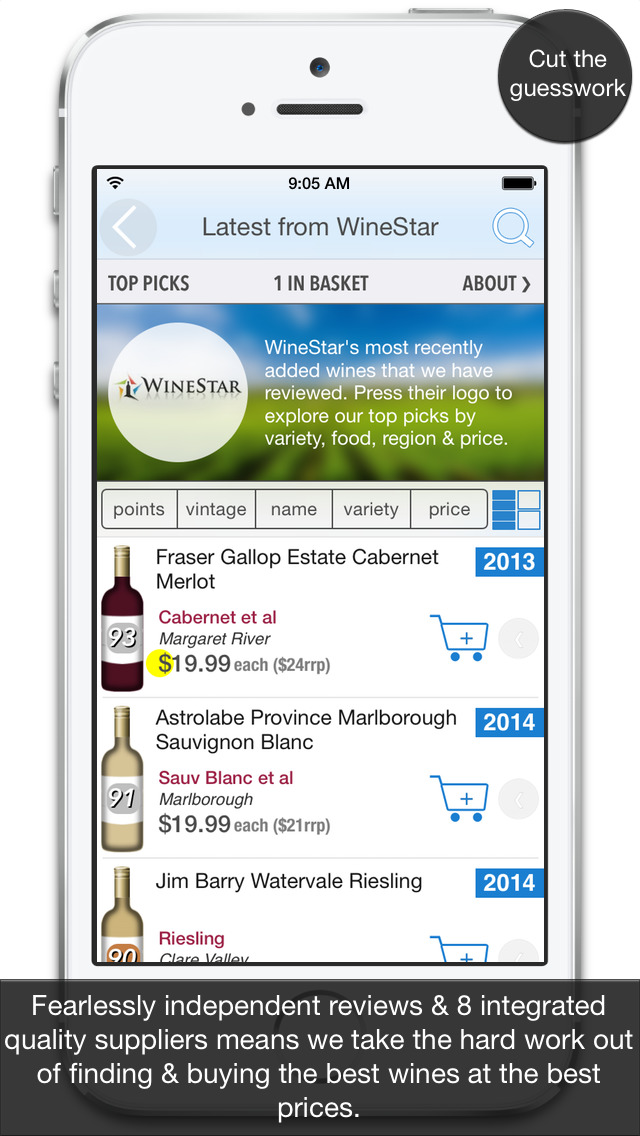 Wineosphere Wine Reviews for Australia & NZ screenshot 2