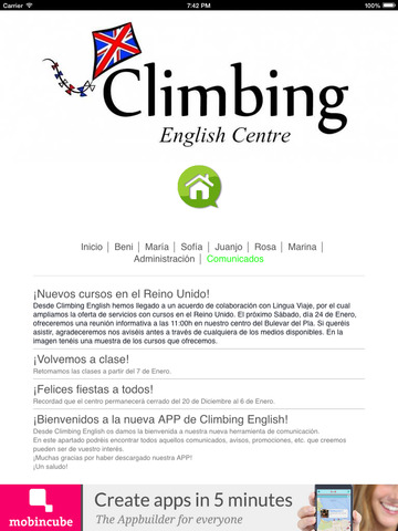 Climbing English screenshot 10
