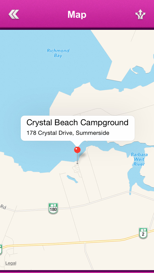 Prince Edward Island Campgrounds screenshot 5