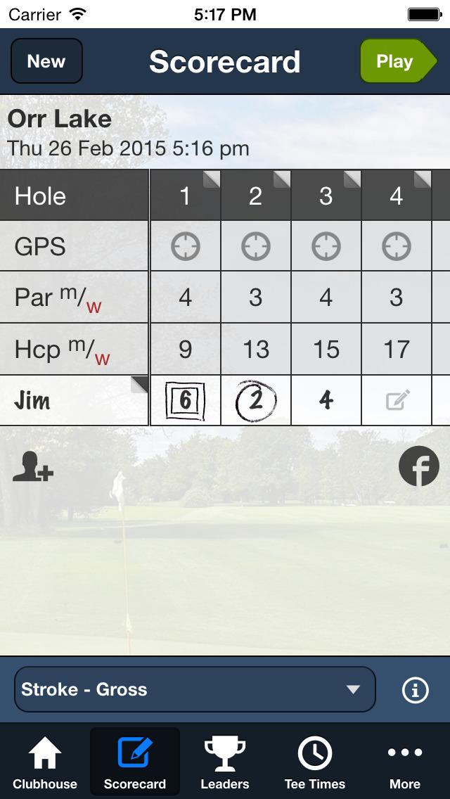 Orr Lake Golf Club screenshot 3