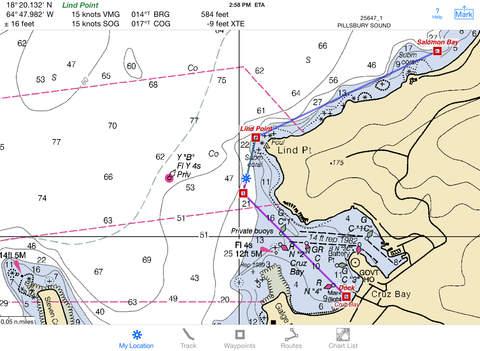 i Sail GPS : NOAA USA Charts screenshot 8