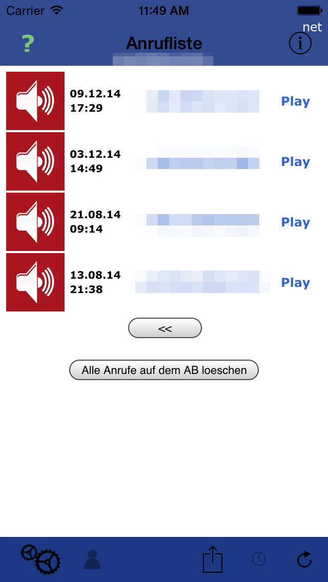 Call List Lite screenshot 3