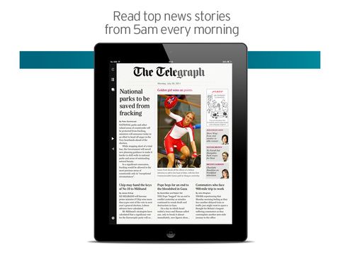 Telegraph Newspaper Edition UK screenshot #1
