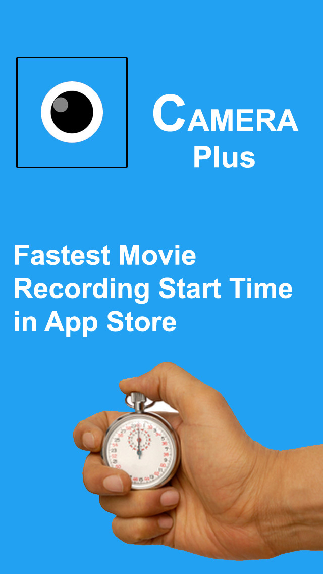 Camera Plus - Fast One Tap Video Camera screenshot 1