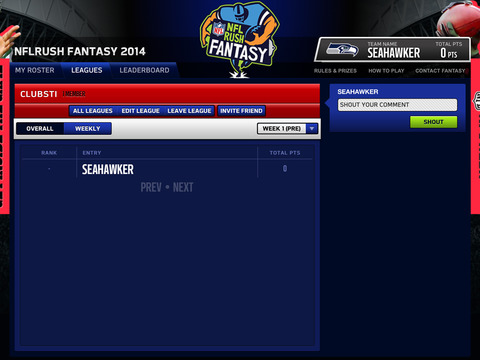 NFLRUSH Fantasy Football screenshot 9