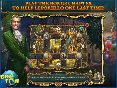 Haunted Legends: The Stone Guest HD - A Hidden Objects Detective Game (Full) screenshot 4