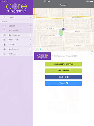 Core Chicago Pilates screenshot #4