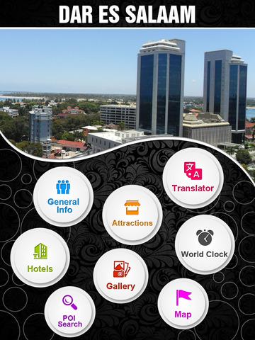 Dar es Salaam City Offline Travel Guide screenshot 7